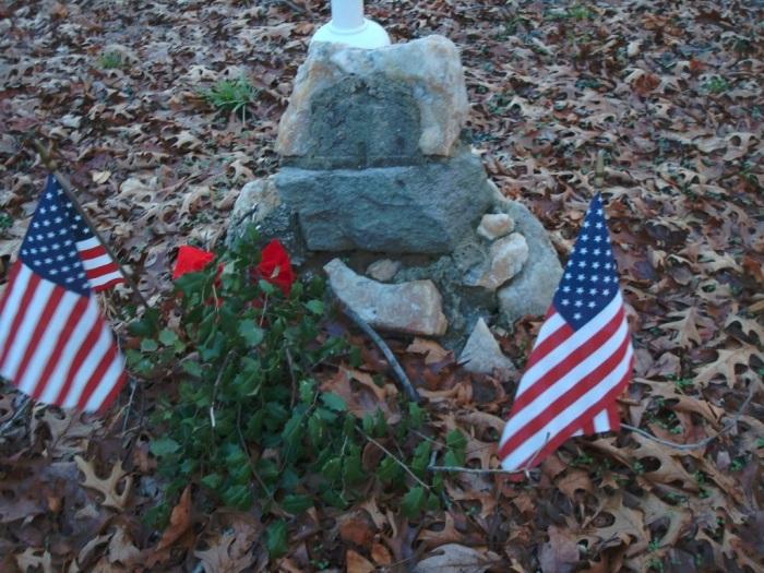Jonas Cattell Gravesite, Deptford, New Jersey