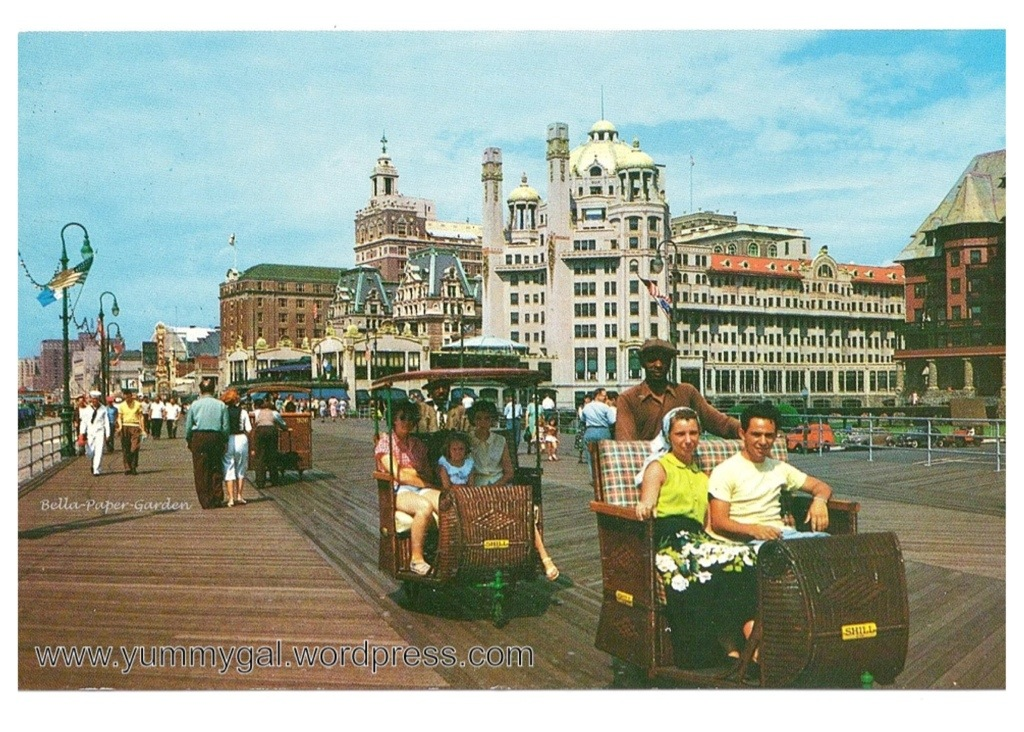 Friday Fun Fact The Atlantic City Rolling Chairs South Jersey