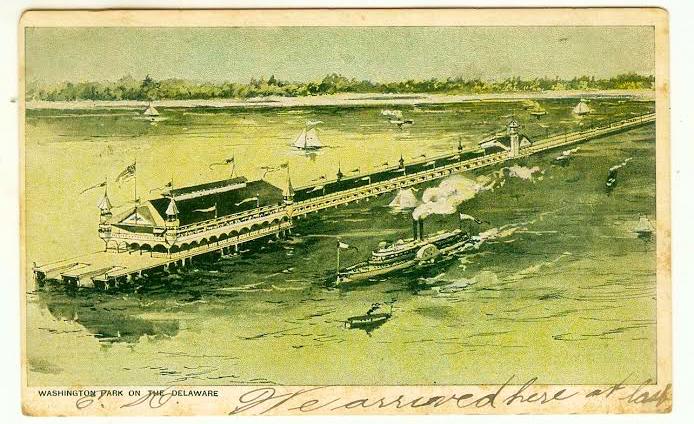 Billy's Pier at Washington Park.