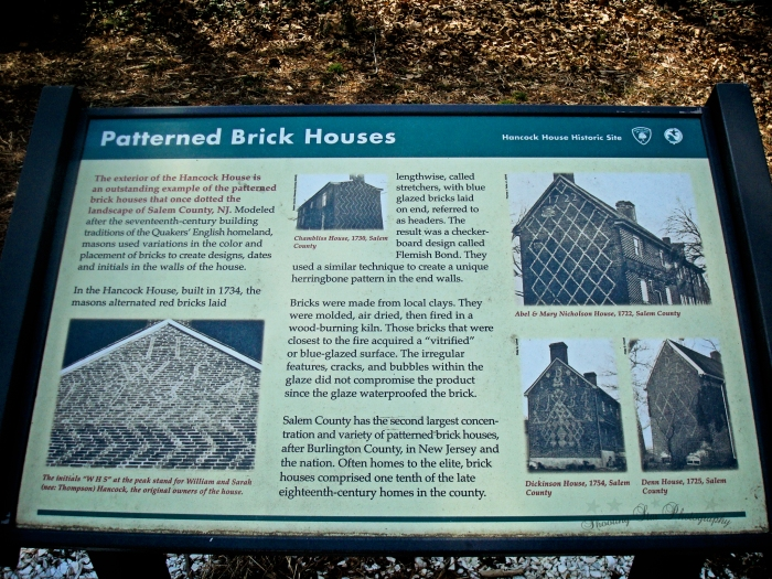 Some info on the Flemish Bond styled homes that are found all over South Jersey.
